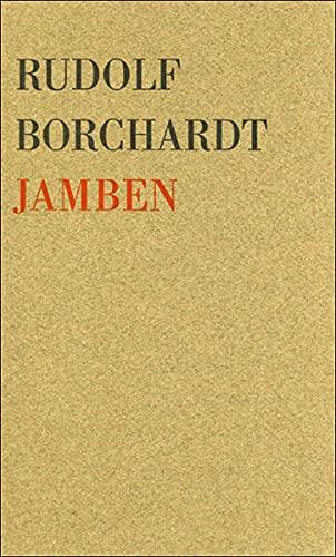 Jamben: Borchardt, Rudolf
