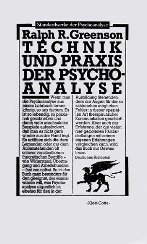 9783129030417: Technik und Praxis der Psychoanalyse. Band 1