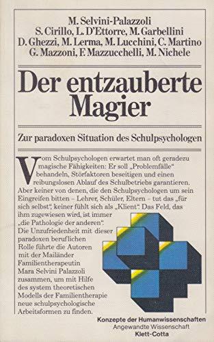 9783129073001: Der entzauberte Magier. Zur paradoxen Situation des Schulpsychologen