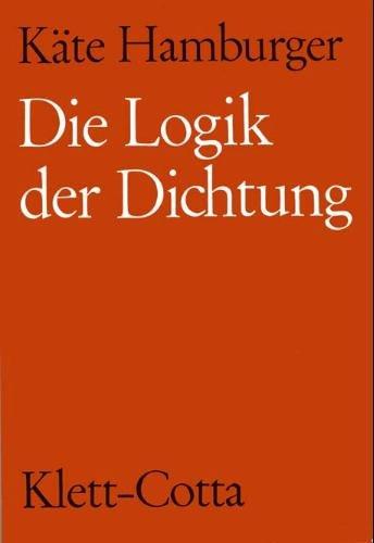 9783129109106: Die Logik der Dichtung (German Edition)