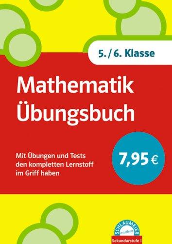 9783129200025: Mathematik Übungsbuch 5./6. Klasse
