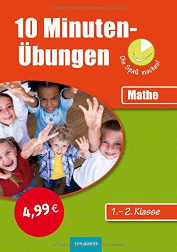 9783129201084: 10-Minuten-Übungen. Mathematik 1./2. Klasse