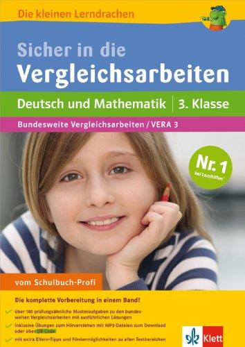 9783129203934: Sicher in die Vergleichsarbeiten Deutsch und Mathematik 3. Klasse