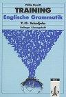 9783129221181: Training, Englische Grammatik, 7./8. Schuljahr