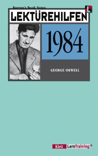 9783129222256: Lektürehilfen Nineteen Eighty- Four ( 1984). (Lernmaterialien)
