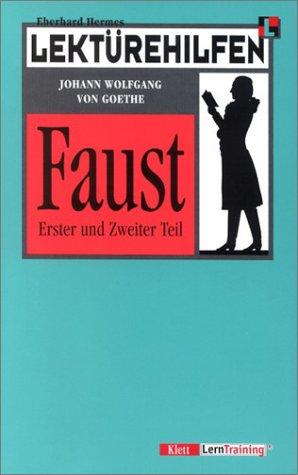 9783129223154: Lektürehilfen Johann Wolfgang von Goethe: Faust I/ II. (Lernmaterialien)