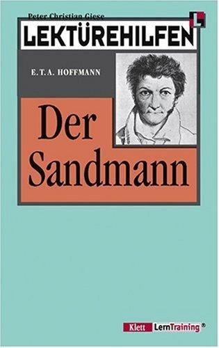 9783129223185: Klett Lekturehilfen: Hoffmann: Der Sandmann