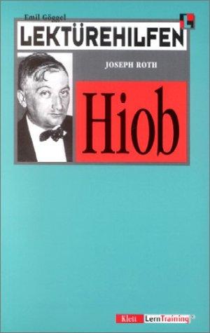 9783129223413: Lektürehilfen Joseph Roth 'Hiob'