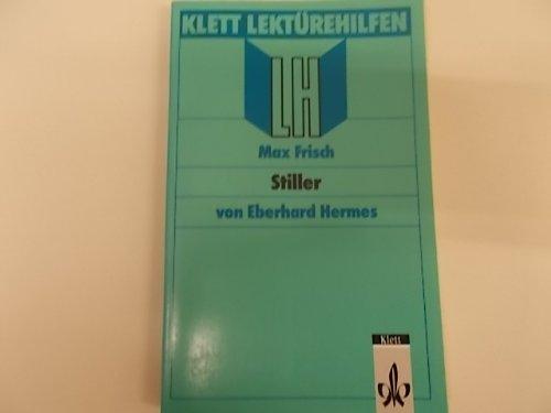 """9783129223499: Lektürehilfen Max Frisch """"Stiller"""" (Klett Lektürehilfen) (German Edition)"""