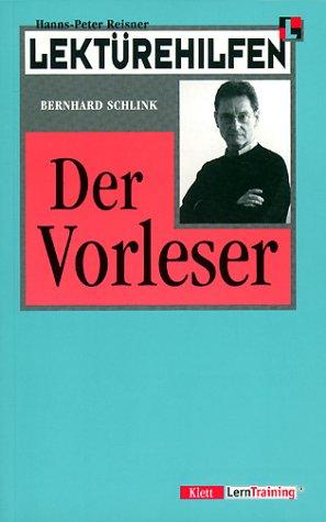 9783129223666: Lektürehilfen Bernhard Schlink 'Der Vorleser'