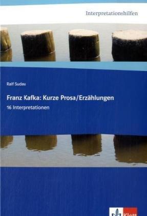 9783129226377: Interpretationshilfen Kafka: Erzählungen: 16 Interpretationen