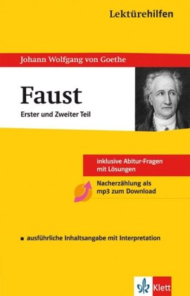 9783129230022: Lektürehilfen Johann Wolfgang von Goethe: Faust 1 und 2: Sekundarstufe II