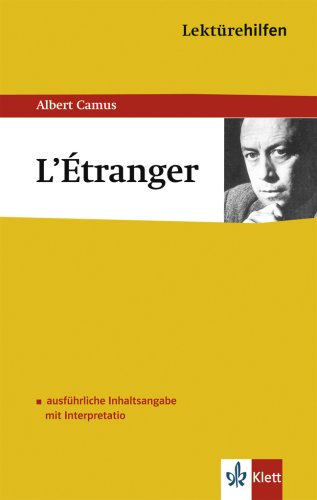 comparison the stranger by albert camus Camus demonstrates that the world of the stranger is irrational by excluding   after meursault goes to jail, the differences between his and marie's attitudes.