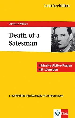 9783129230480: Lektürehilfen Arthur Miller Death of a Salesmann