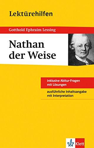 9783129230688: Lektürehilfen Gotthold Ephraim Lessing