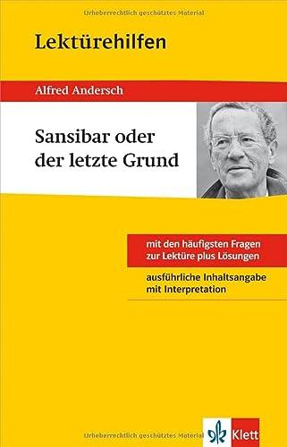 9783129230916: Klett Lekt�rehilfen Alfred Andersch