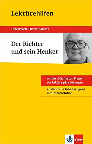 9783129230930: Klett Lektürehilfen Friedrich Dürrenmatt