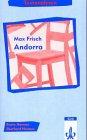 9783129232637: Textanalysen Max Frisch 'Andorra'