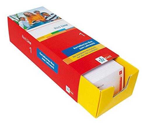 9783129240090: Vokabel-Lernbox zu Red Line1. 5. Schuljahr