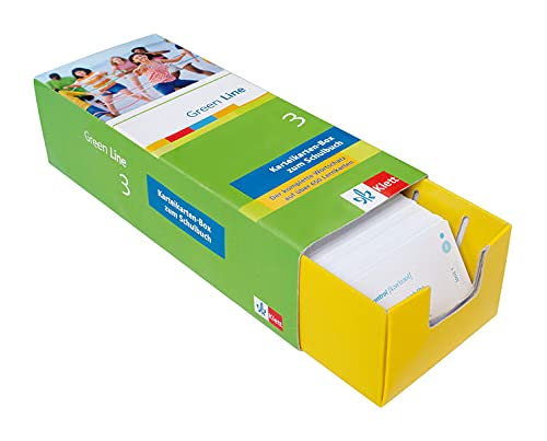9783129240229: Green Line 3. Vokabel-Lernbox: Der komplette Wortschatz auf über 650 Lernkarten