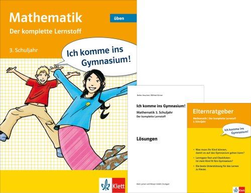 9783129258088: Mathematik. 3. Schuljahr: Der komplette Lernstoff