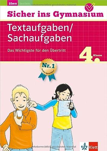 9783129258576: Sicher ins Gymnasium Mathematik Textaufgaben 4. Klasse