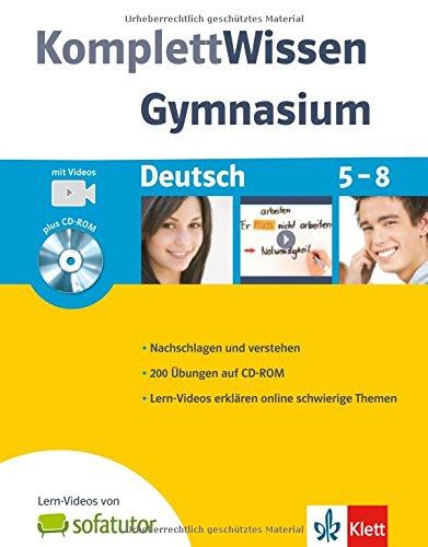 9783129260326: KomplettWissen Gymnasium. Deutsch 5.-8. Schuljahr