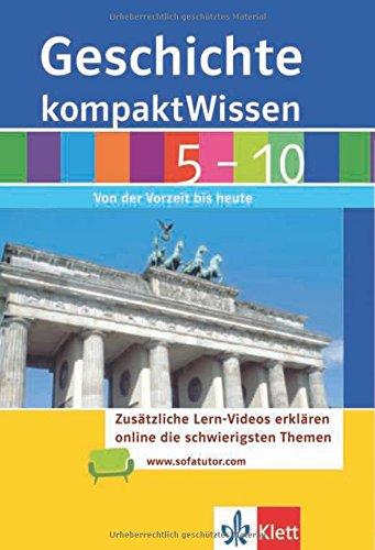 9783129260395: Kompaktwissen Geschichte 5 - 10