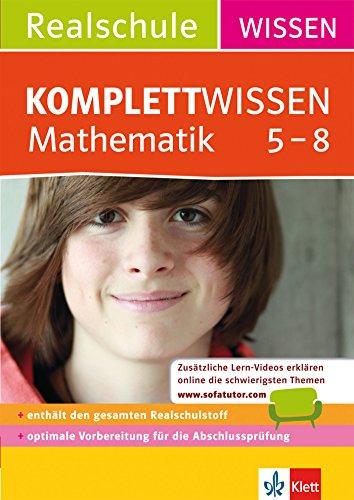 9783129260470 KomplettWissen Realschule Mathematik 5 8