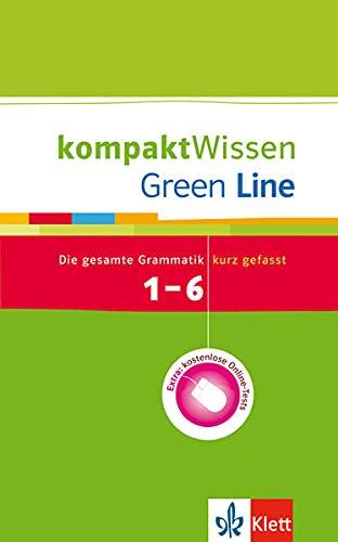 9783129260562: Green Line 1.-6. Lernjahr: kompaktWissen: Die gesamte Grammatik kurz gefasst mit Online-Tests