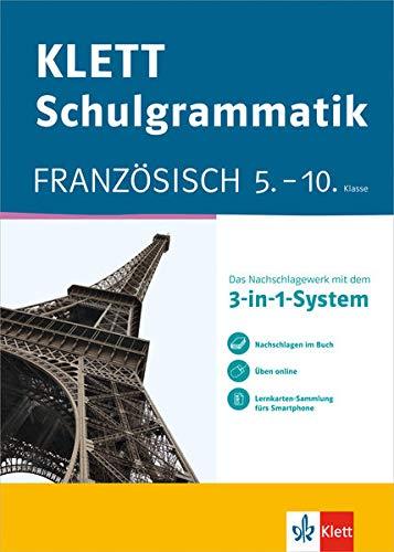 9783129260838: Klett-Schulgrammatik. Französisch 5.-10. Klasse mit Online-Übungen und mobile Lernkarten