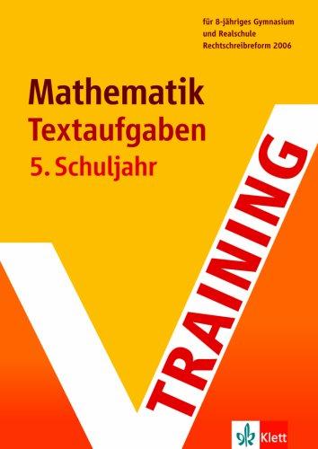 9783129271223: Bergmann, Hans : Bergmann, Hans: Training Mathematik Textaufgaben. - [Neubearb.]. - Stuttgart : Klett Lernen und Wissen