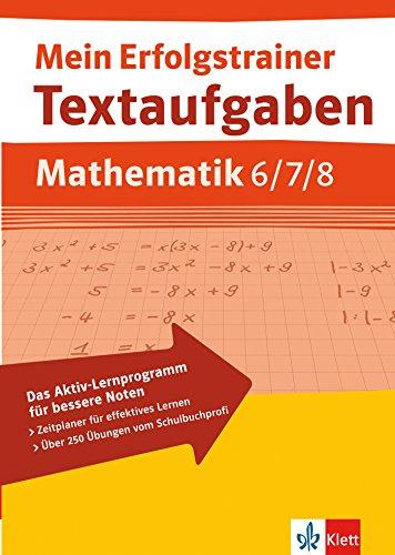 9783129271322: Textaufgaben Mathematik. 6.-8. Schuljahr