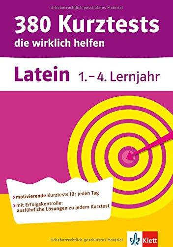 9783129271575: 380 Kurztests die wirklich helfen Latein, 1.-4. Lernjahr