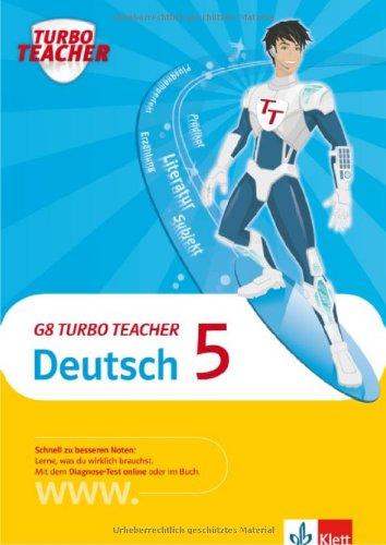 9783129271858: G8 Turbo Teacher Deutsch. 5. Schuljahr
