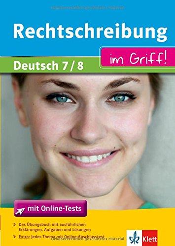 9783129272282: Rechtschreibung im Griff! Deutsch 7/8