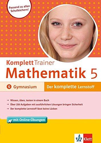 Klett Komplett Trainer Mathematik Gymnasium Klasse 5: Homrighausen, Heike; Lehmann,