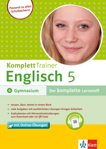 KomplettTrainer Gymnasium Englisch 5: Buch mit Online-Übungen : Buch mit Online-Übungen - Alexander P. Saccaro