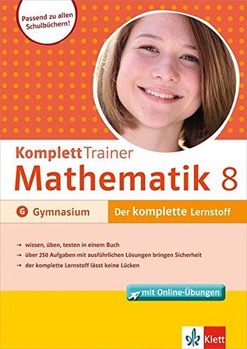9783129273067: KomplettTrainer Gymnasium Mathematik 8. Klasse: Buch mit Online-Übungen