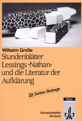 9783129274859: Lessings 'Nathan' und die Literatur der Aufklärung