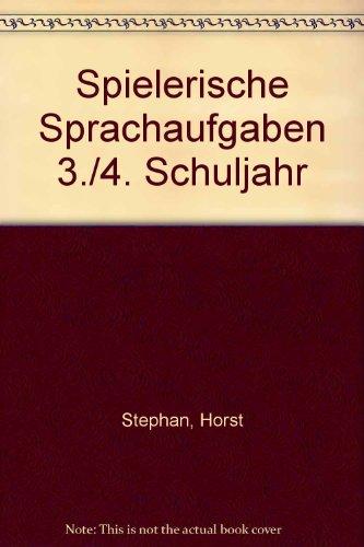 9783129279304: Spielerische Sprachaufgaben 3./4. Schuljahr
