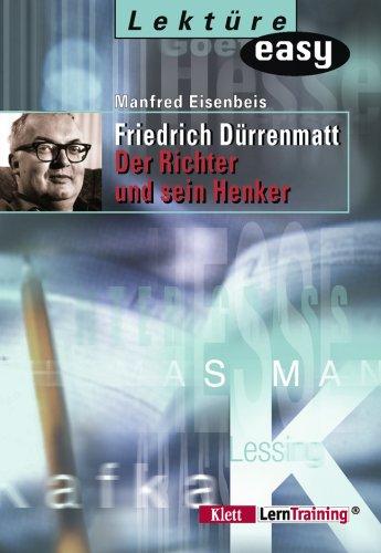 9783129280935: Der Richter und sein Henker. Materialien.