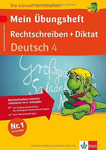 9783129291948: Mein Ubungsheft. Deutsch 4. Schuljahr. Rechtschreiben und Diktat