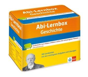 9783129292778: Abi-Lernbox Geschichte: Die 100 wichtigsten Aufgaben und Lösungen auf Lernkarten mit zusätzlichen Lernvideos online