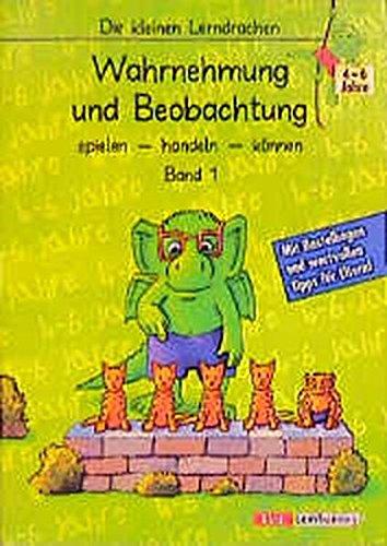9783129293256: Die kleinen Lerndrachen, Wahrnehmung und Beobachtung (Livre en allemand)