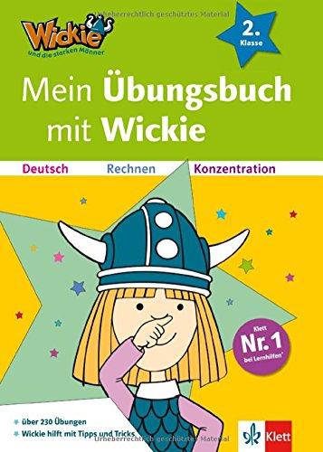 Mein Übungsbuch mit Wickie 2. Klasse : Deutsch, Rechnen, Konzentration