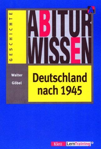 9783129295199: Arbiturwissen Deutschland (German Edition)