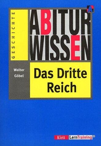 9783129295229: Abiturwissen, Das Dritte Reich