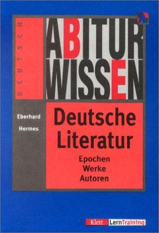 9783129295281: Abiturwissen, Deutsche Literatur