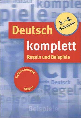 9783129296783: Deutsch komplett, 5.-8. Schuljahr